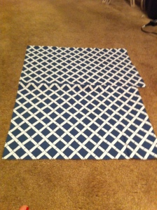 sewing, placemats, diy